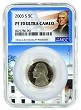 2003 S Jefferson Nickel NGC PF70 Ultra Cameo - White House Core