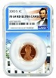 2003 S Lincoln Penny NGC PF69 RD Ultra Cameo - White House Core