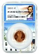 2003 S Lincoln Penny NGC PF70 RD Ultra Cameo - White House Core