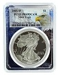 2003 W 1oz Silver Eagle Proof PCGS PR69 DCAM - Eagle Picture Frame