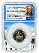 2004 S Keelboat Nickel NGC PF70 Ultra Cameo - White House Core