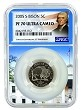2005 S Bison Nickel NGC PF70 Ultra Cameo - White House Core