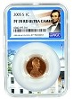 2005 S Lincoln Penny NGC PF70 RD Ultra Cameo - White House Core