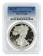 2011 W 1oz Silver Eagle Proof PCGS PR69 DCAM - Blue Label