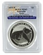 2012 P Australia 1oz Silver Koala PCGS MS69 Flag Label