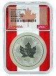 2014 Canada 1oz Silver Maple Leaf Chicago ANA Privy NGC Reverse Proof PF70 - Flag Core