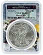 2015 (w) Struck At West Point Silver Eagle PCGS MS70 - West Point Frame