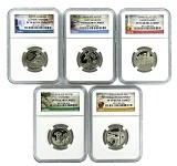 2016 S National Park Clad Quarter Set NGC PF70 Ultra Cameo