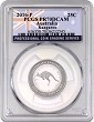 2016 Australia 1/4oz Silver Proof Kangaroo PCGS PR70 DCAM - Flag Label POP 82
