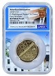 2018 S Innovation Reverse Proof Dollar 1st Patent NGC PF69 Ultra Cameo - ER - White House Core - Donald Trump Label