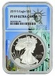 2019 S 1oz Silver Eagle Proof NGC PF69 Ultra Cameo - Statue Of Liberty Core