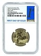 2019 P Coin And Currency Set Sacagawea Dollar NGC SP69 - 1st Day Of Issue