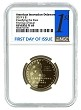 2019 S Innovation Reverse Proof Dollar Delaware NGC PF69 - First Day Of Issue Label