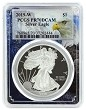 2019 W 1oz Silver Eagle Proof PCGS PR70 DCAM - Eagle Frame
