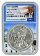2020 1oz Silver Eagle NGC MS70 - Early Releases - White House Core - Donald Trump Label