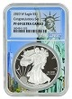 2020 W Congratulations Set Silver Eagle Proof NGC PF69 Ultra Cameo  - Statue Of Liberty Core