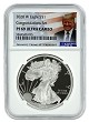 2020 W Congratulations Set Silver Eagle Proof NGC PF69 Ultra Cameo  - Donald Trump Label