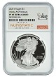 2020 W 1oz Silver Eagle Proof NGC PF69 Ultra Cameo - Atlanta ANA Releases Label