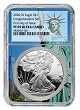 2020 W Congratulations Set Silver Eagle Proof NGC PF69 Ultra Cameo - First Day - Statue Of Liberty Core