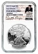 2020 W 1oz Silver Eagle Proof NGC PF69 Ultra Cameo - Early Releases - Liberty Coin Act Label