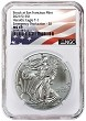 2021 (s) Emergency Production Silver Eagle NGC MS69 - ER Flag Label