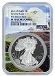 2021 W 1oz Silver Eagle Proof NGC PF70 Ultra Cameo - First Day Issue - Eagle Core