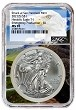2021 (s) Emergency Production Silver Eagle NGC MS70 - Eagle Core
