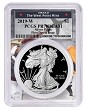 2019 W 1oz Silver Eagle Proof PCGS PR70 DCAM - First Day Issue - West Point Frame